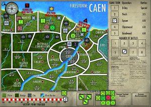 Turno 3 Firestorm:Caen