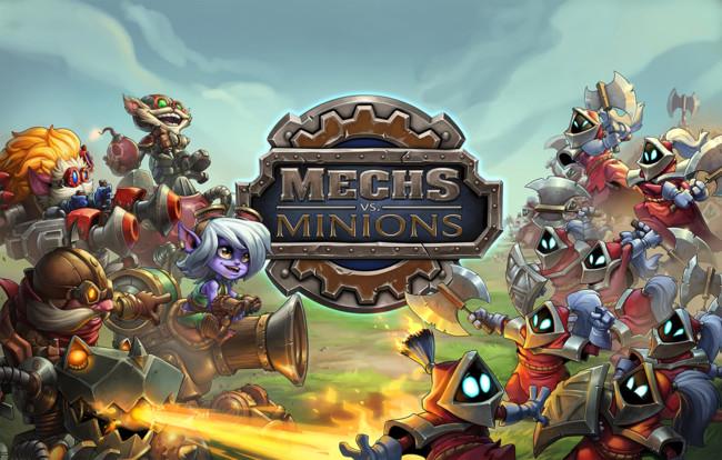 Mechs vs Minions, el juego de tablero de League of Legends